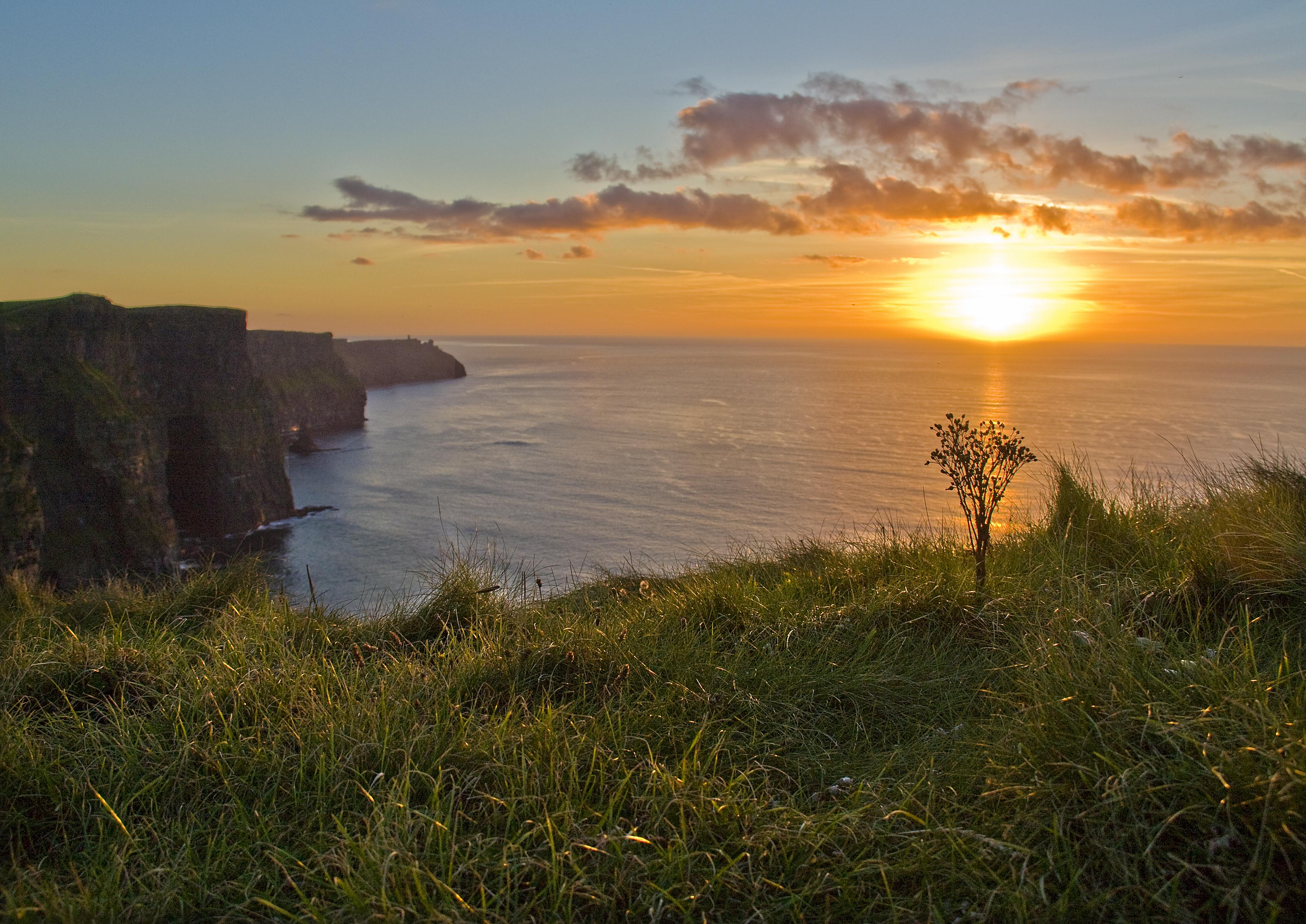 por do sol mais lindo do mundo irlanda