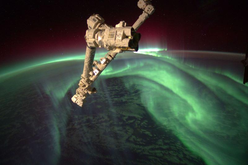 aurora boreal austral