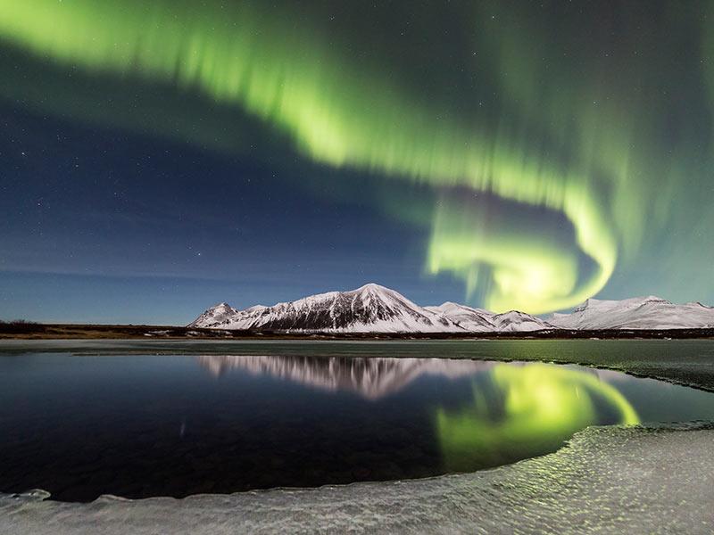 aurora boreal como se forma