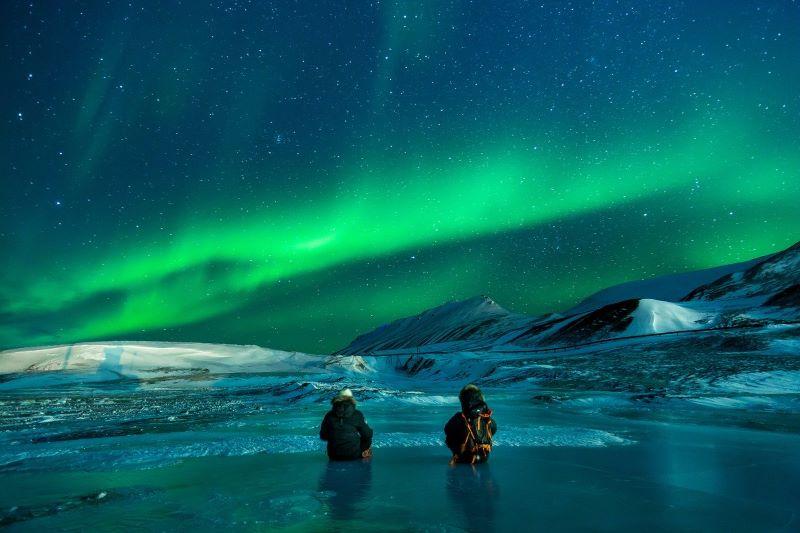 aurora boreal onde acontece