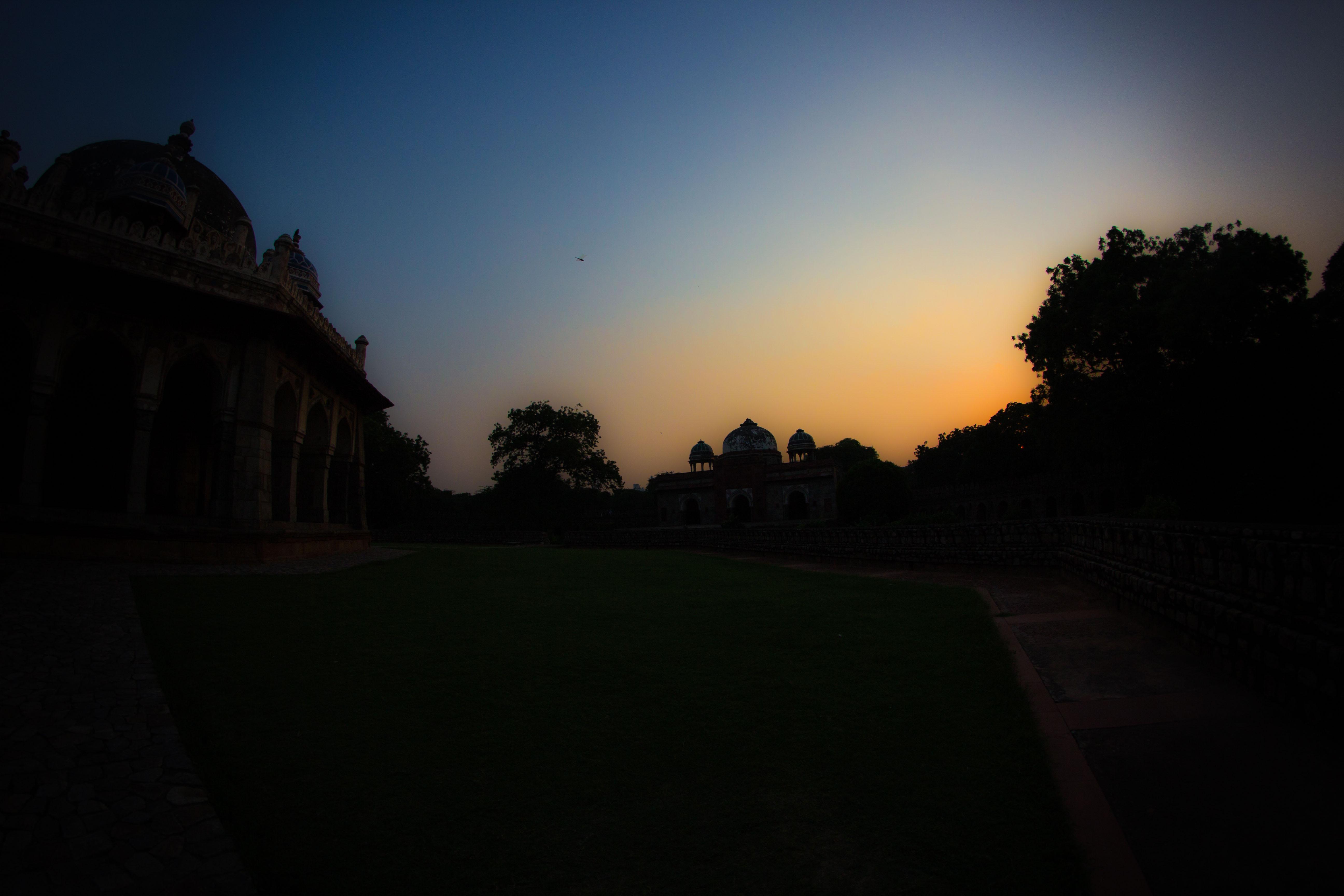 por do sol mais lindo do mundo india
