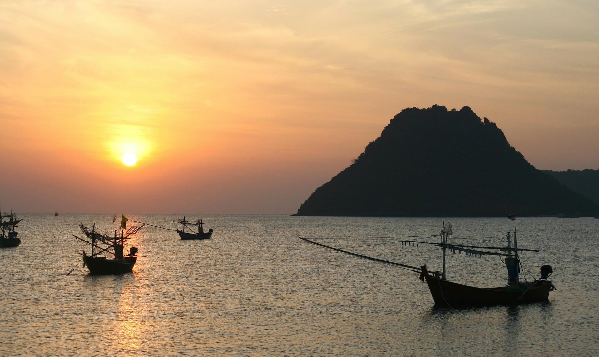 por do sol mais lindo do mundo tailandia